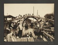 [View of Bridge from Boat], 1933, DeGolyer Library, SMU.