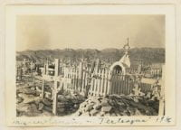 Mexican Cemetery - Terlingua, 1936, Bywaters Special Collections, SMU.
