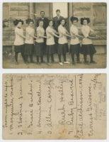 [Haskell High School Girls' Basketball Team], ca. 1910-1911, DeGolyer Library, SMU.