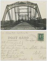 Free Bridge Across the Colorado River Bastrop Tex, ca. 1907, DeGolyer Library, SMU.