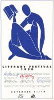 Literary Festival 1990, November 11-16, 1990, DeGolyer Library, SMU.