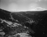 Cold Stream Cyn on the Southern Pacific route [No. 2], September 1963, DeGolyer Library, SMU.