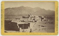 The Ind. Pueblo of Taos, N.M., No 384., ca. 1866-1884, DeGolyer Library, SMU.