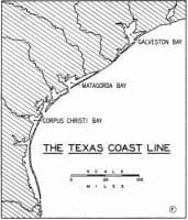 The Influence Of The Shoreline, Rivers And Springs On The Settlement And Early Development Of Texas by Ellis W. Shuler, November 1936