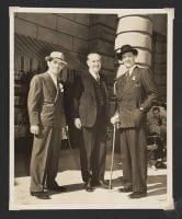 [Clark Gable, Sir Victor Sassoon, and Basil Rathbone], ca. 1940, DeGolyer Library, SMU.