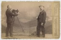 [Photographer and Man Posing], ca. 1890s, DeGolyer Library, SMU.
