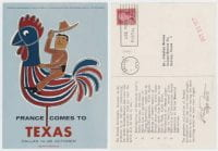 France Comes to Texas, October 15, 1957, DeGolyer Library, SMU.