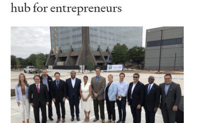 Mayor Eric Johnson announces plan to make Dallas an inclusive hub for entrepreneurs