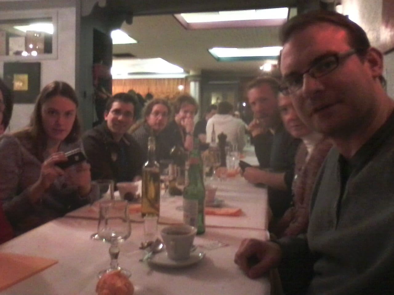Charged Higgs Workshop Dinner
