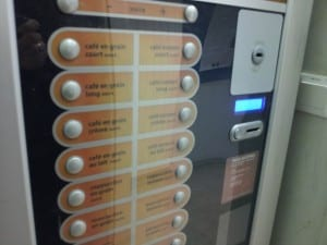 One of the many ways to get coffee (and other hot drinks) found throughout CERN.