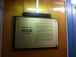 Most people don't know that the world wide web was invented at CERN for particle physicists. Now you know.