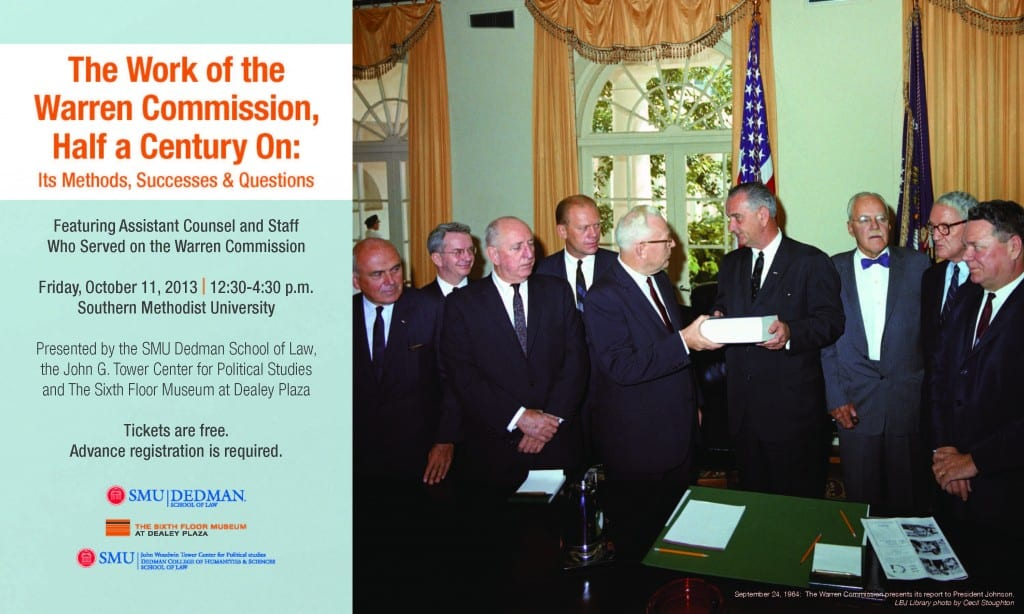 Warren Commission Program Invitation_Page_1