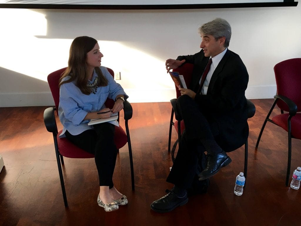 SMU student Madeleine Case interviewed Arthur Lupia, professor of political science at the University of Michigan