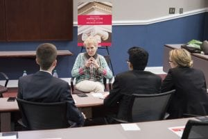 Students Interview Ambassador Swanee Hunt