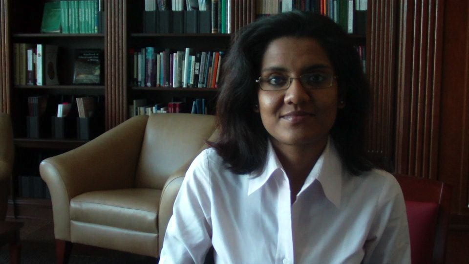 SMU Ph.D. candidate and Adjunct Professor of Economics Manan Roy