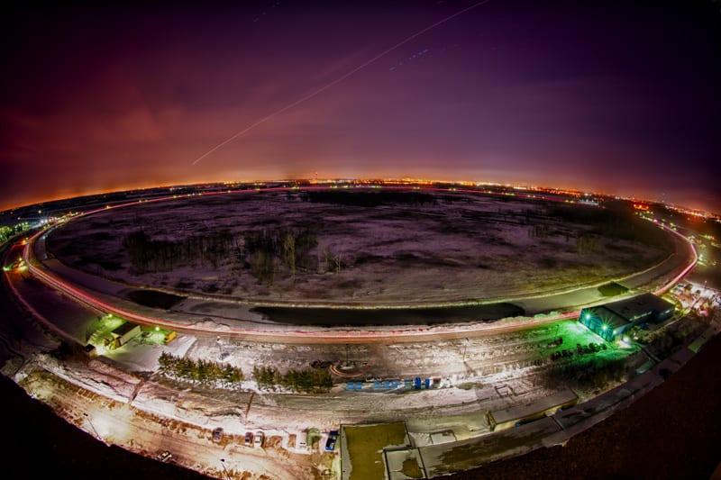 DZero ring at Fermi