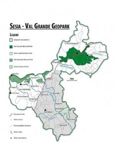 Sesia Val Grande geopark