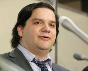 Mt. Gox CEO Mark Karpeles. (Credit: Associated Press)