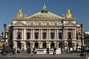 The Palais Garnier of the Paris Opera, one of the world's most famous opera houses. (Credit: Peter Rivera, Paris Opera)