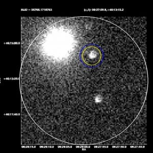 Gamma-ray burst 1404191 was spotted at 11 p.m. on April 19 by SMU's robotic ROTSE-IIIb telescope at McDonald Observatory, Fort Davis, Texas.