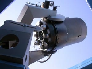 The ROTSE-IIIb robotic telescope at McDonald Observatory, Fort Davis, Texas. (Photo: McDonald Observatory)