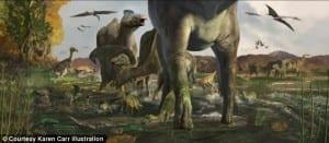 Anthony Fiorillo, SMU, Perot Museum, Alaska, hadrosaur