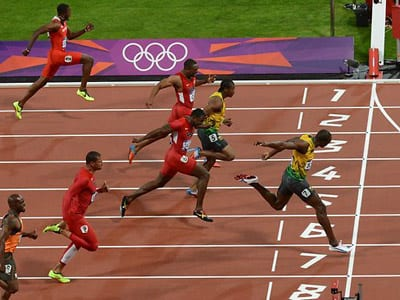 Usain Bolt, elite sprinters, Weyand, punch, SMU