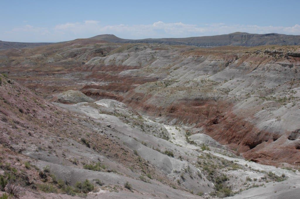 Ancient soil samples from the Jurassic in Wyoming indicate this area of the massive Morrison Formation surprisingly was more arid than its counterpart in New Mexico. (Credit: Myers, SMU)