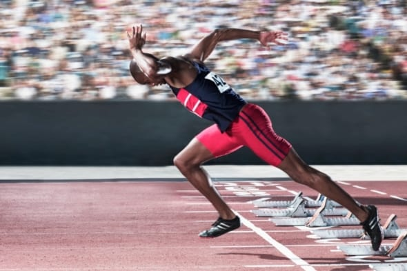 "Scientific American: The Secret to Human Speed — ""To sprint like a pro, think like a piston."""