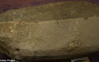 Etruscan, stele, Uni, goddess, Poggio Colla, Italy, Gregory Warden, SMU, Mugello Valley Project
