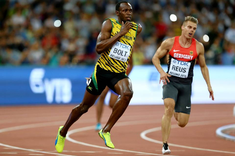 Usain Bolt, Peter Weyand, Wall Street Journal, sprinters, speed, biomechanics