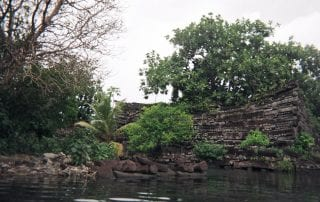 Nan Madol, Mark McCoy, basalt, coral, Pacific, islands, Pohnpei, McCoy, SMU