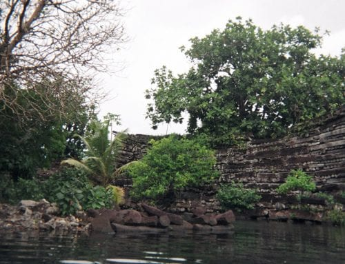 Evidence of first chief indicates Pacific islanders invented a new society on city they built of coral and basalt