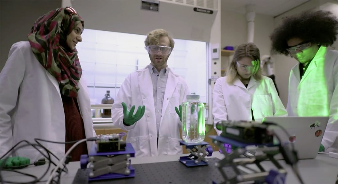 Daily Planet: Star Wars come to life in SMU chemist's invention