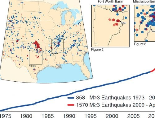 Scientific American: Drilling Reawakens Sleeping Faults in Texas, Leads to Earthquakes