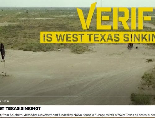 WFAA Verify: Is West Texas sinking?