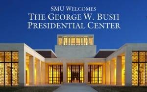Bush Center welcome graphic