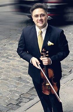SMU violin faculty