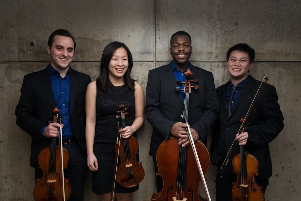 Julius Quartet, SMU's Ensemble-in-Residence, Has the Drive to Improve