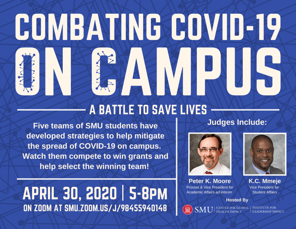 Combating Covid-19 on Campus Flyer