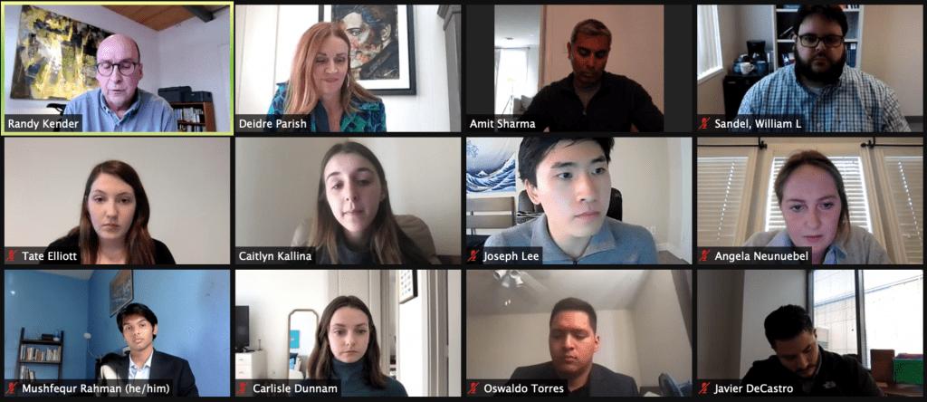 Pandemics Debate 1, judges and two teams