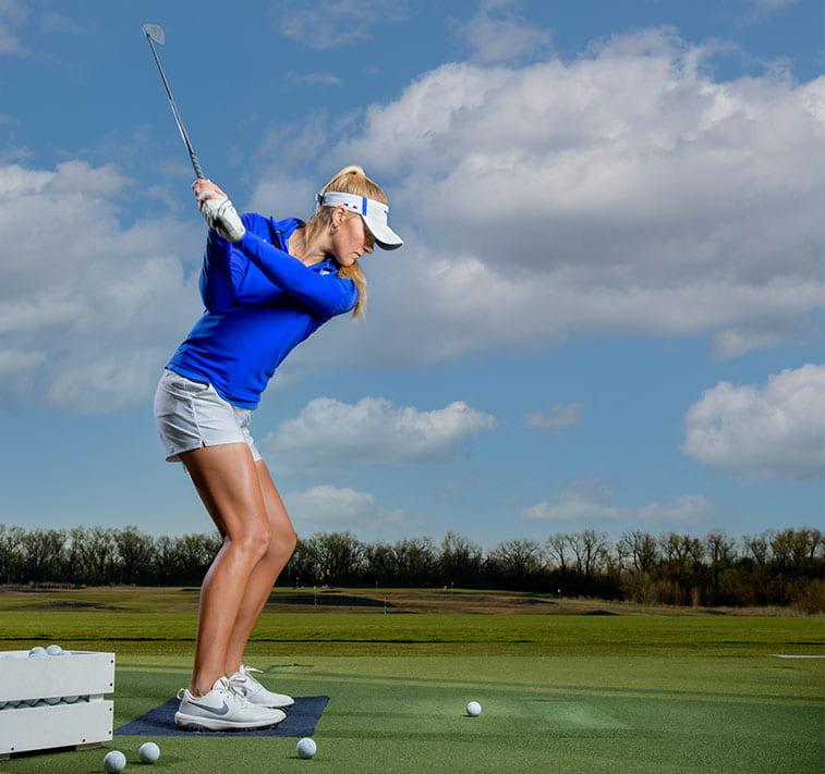 golf student-athlete Katie James