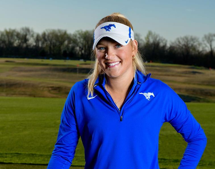 student-athlete Katie James