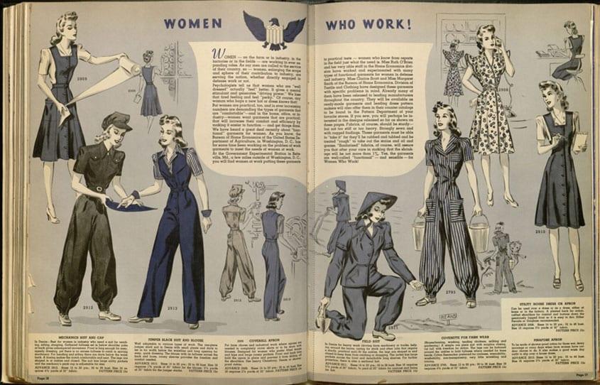 JCP Fashions and Fabrics catalog, 1942 A2004.0007