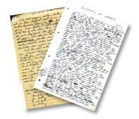 Joe Coomer Manuscript