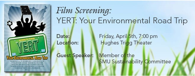 Film Screening: YERT (Your Environmental Road Trip)