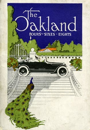 Oakland Fours, Sixes, and Eights