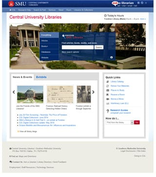 New CUL website