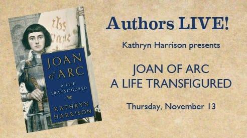 Kathryn Harrison Book Signing, Nov. 13