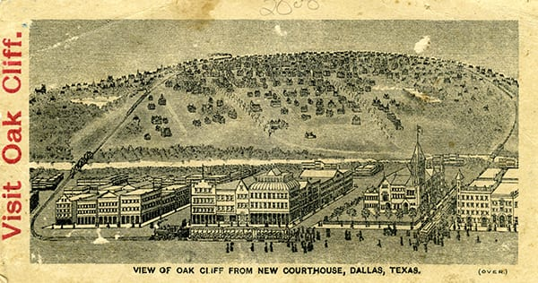 Oak Cliff Postcard: George Cook Image Collection